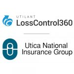 Utica National and Loss Control 360 logo banner