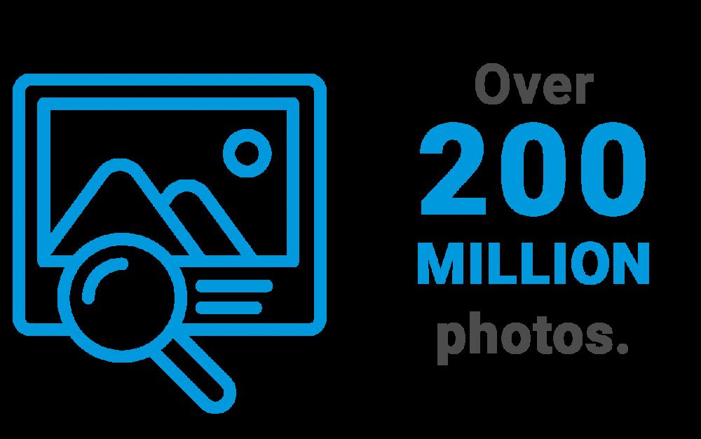 200 Million Photos